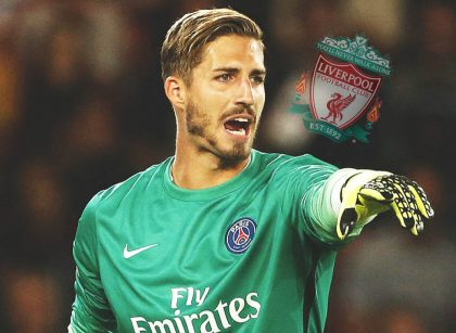Kevin Trapp Liverpool Goal